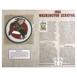 1960 Washington Senators Cooperstown Baseball