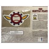 1969 Seattle Pilots Cooperstown Baseball