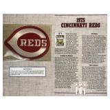 1975 Cincinnati Reds Cooperstown Baseball