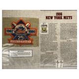 1986 New York Mets Cooperstown Baseball