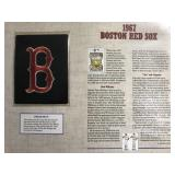 1967 Boston Red Sox Cooperstown Baseball