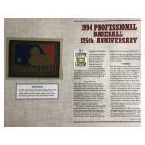1994 Professional Baseball 125th Anniv.