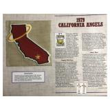 1979 California Angels Cooperstown Baseball