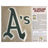 1973 Oakland Athletics Cooperstown Baseball