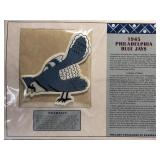 1945 Philadelphia Blue Jays Embroidered Patch By