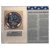 1946 Cleveland Indians Embroidered Patch By