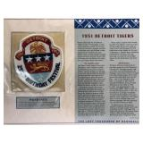 1951 Detroit Tigers Embroidered Patch By Willabee