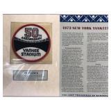 1973 New York Yankees 50th Anniv Yankee Stadium