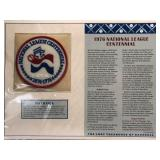 1976 National League Centennial Embroidered Patch