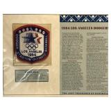 1984 Los Angeles Dodgers Embroidered Patch By