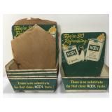 (5) NOS Vintage Kool Cigarettes Advertising Sign
