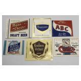 Vintage Unused Beer Bottle Labels