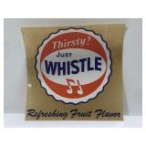 Vintage Whiste Soda Decal