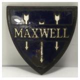 Early Enameled Maxwell Automotive Emblem