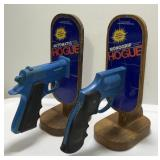 (2) Vintage Hogue Monogrip Pistol / Revolver