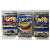 (3) Hot Wheels Treasure Hunt Car On Blister Card