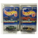 (2) Hot Wheels Treasure Hunt Car On Blister