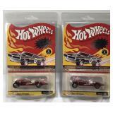 (2) Hot Wheels Redline Club RLC Twin Mill Car On