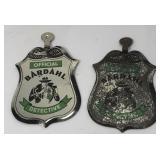Lot of 2 Vintage Bardahl Promotional Detective