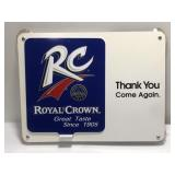 Royal Crown Advertising Window Sign Open /