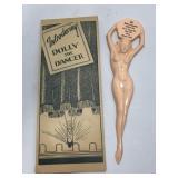 Vintage Dolly The Dancer Novelty Nude Pinup Girl