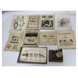 Lot of Vintage Erotic / Novelty Booklets ,