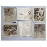 Lot Of Vintage Original Pinup Girl Nude Photos /