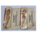 (2) Vintage Risqué Nude Pinup See More Susie