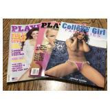 Lot of 3 Playboy Magazines / Nude Girls