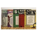 (5) 1930s Adult Medical / Sex Ed Booklets