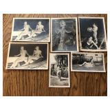 Lot of Vintage Nude Pinup Girl Photos Largest