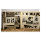 Vintage Mississippi/ Colorado State Queen Iris