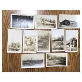 Antique Lumber Mill Photo Lot