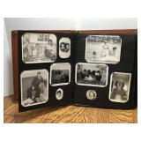 Vintage Photo Album Includes Military Photos and
