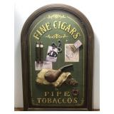 Fine Cigars & Pipe Tobaccos Sign Measures