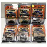 Mattel Matchbox Car On Blister Card  Sold times