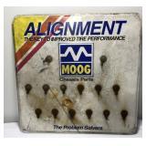 Vintage Moog Chassis Parts Metal Store Display
