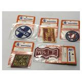 (5) Vintage Walthers Railroad Emblems Embroidered