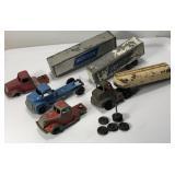 Vintage Tootsie & Winross Truck Lot