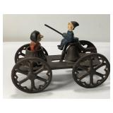 Cast Iron Pull Toy  Measures approximately