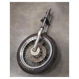 Harley Davidson Superglide Forks Front End