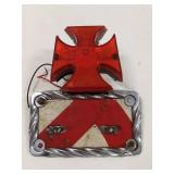 Motorcycle Taillight License Plate Frame