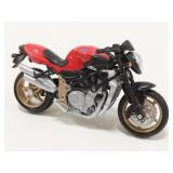 1/18 Scale Augusta Motorcycle