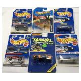 (6) Hot Wheels Car On Blister Card  Sold times