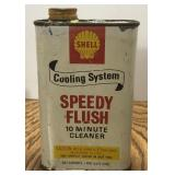 Vintage Shell Speedy Flush 1 Pint Can