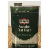 Vintage Texaco Radiator Flush 1 Pint Can