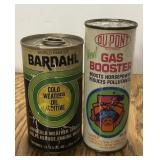 Lot of 2 Vintage Automotive Cans