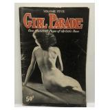 Vintage Girl Parade Nude Pinup Model Magazine