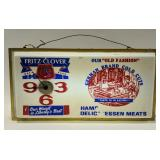 Vintage Fritz Clover Cold Cuts Lighted
