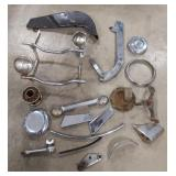 Lot of Vintage Motorcycle Parts Harley & More